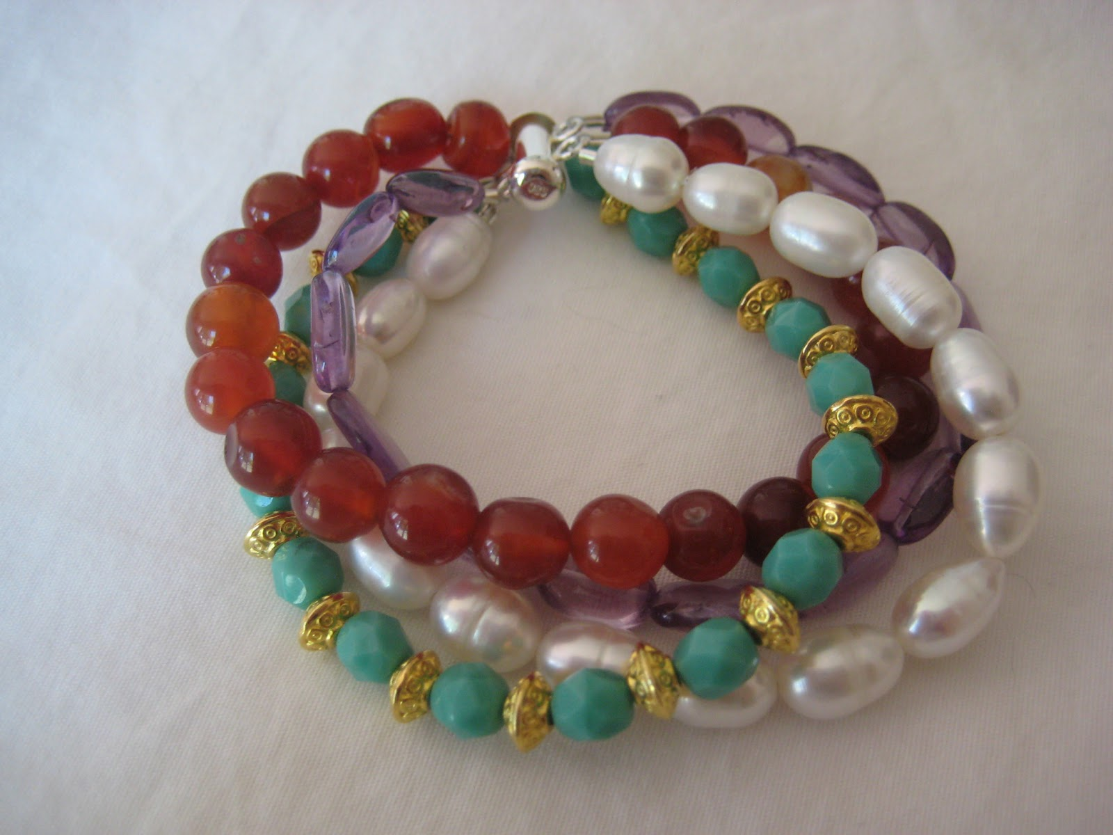 multi strand beaded bracelet jen s findings